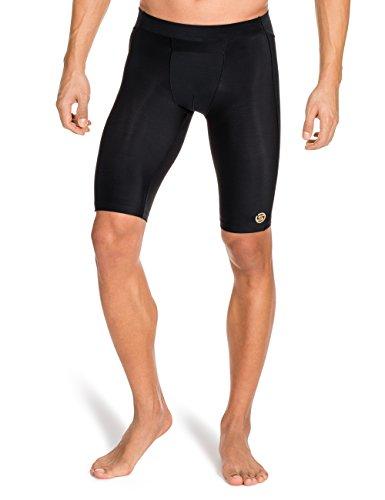 Skins - Culotte para hombre, talla L (Talla del fabricante : L), color negro