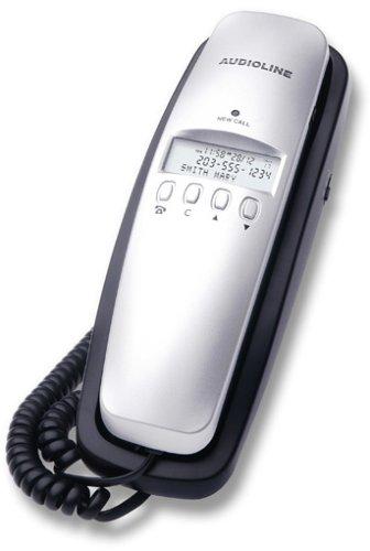 Audioline TEL 5 CLIP, handset, Giratorio, 0 MB, 0 entradas, LCD, Monocromático