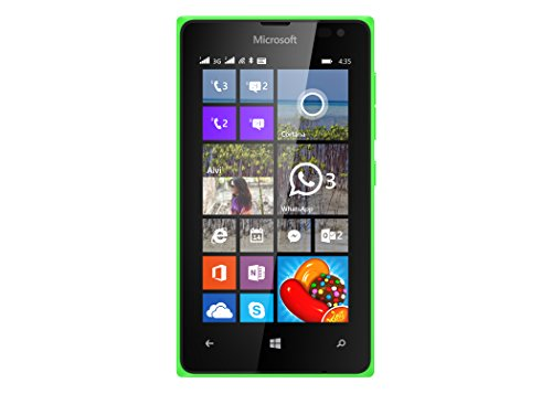 Microsoft Lumia 435 DS - Smartphone libre Windows Phone (pantalla 4