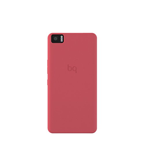 BQ Candy - Funda para Aquaris M5, color rojo