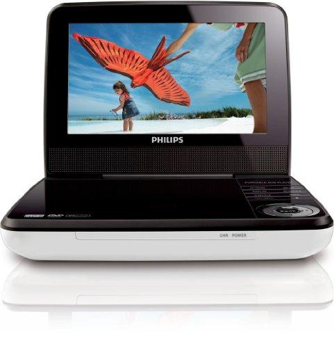 Philips PD7030/12 - Reproductor de DVD portátil (Pantalla LCD de 7