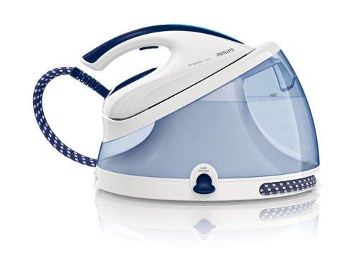 Philips GC8622/20 - Generador de vapor a presión con tecnología OptimalTemp 5,2 bares, con depósito de agua fijo de 2,5 l, PerfectCare Aqua