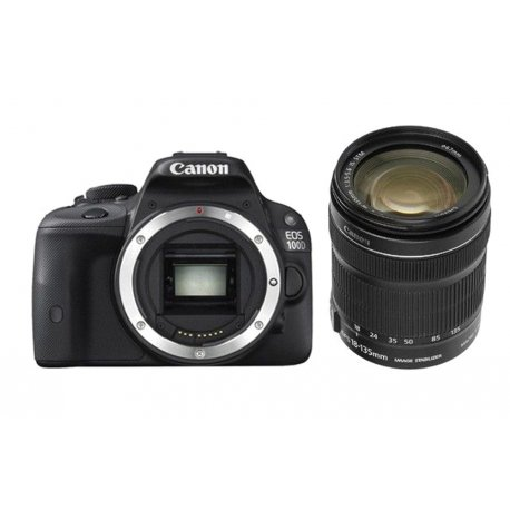 Canon EOS 100D + 18-135 mm IS STM - Cámara réflex digital de 18 Mp (pantalla 3