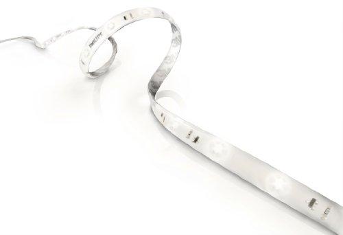 Philips LightStrip Curve Color - Cinta luminosa, tipo de lámpara LED, 1.6 m, color blanco