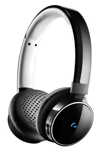 Philips SHB9150 - Auriculares de diadema abiertos, Bluetooth, NFC, color negro