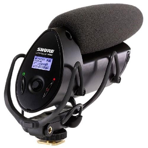 Shure VP83F LensHopper Shotgun - Micrófono con grabadora Flash integrada