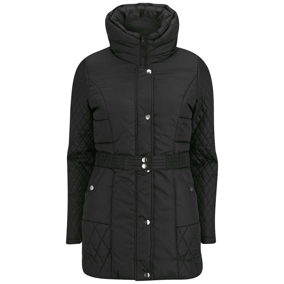 Vero Moda Women's Ludo Coat - Black - S