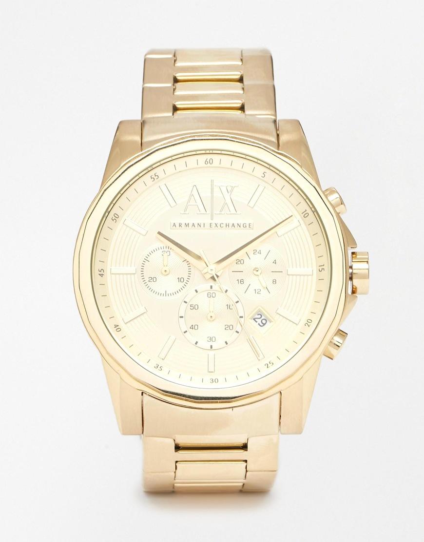 e35b821ddb78 reloj armani gold