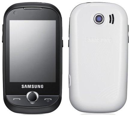 Samsung B5310 CorbyPRO (Fondo Negro Teclado Rojo)