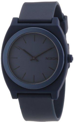 Nixon A1191309-00 - Reloj analógico de cuarzo para hombre con correa de plástico, color azul