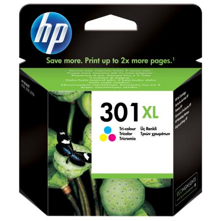 HP 301XL Cartucho Tricolor