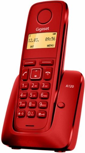 Gigaset A120 Teléfono inalámbrico (DECT, bajo de la radiación)