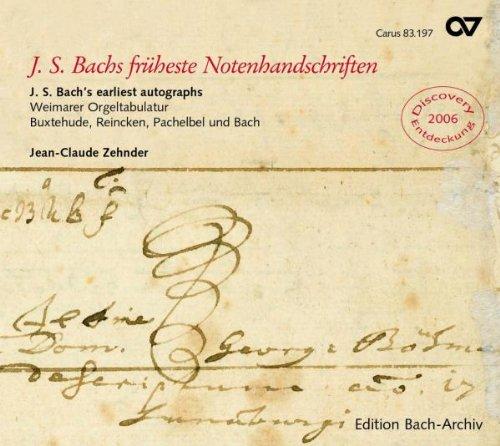 Bach: Manuscritos Tempranos