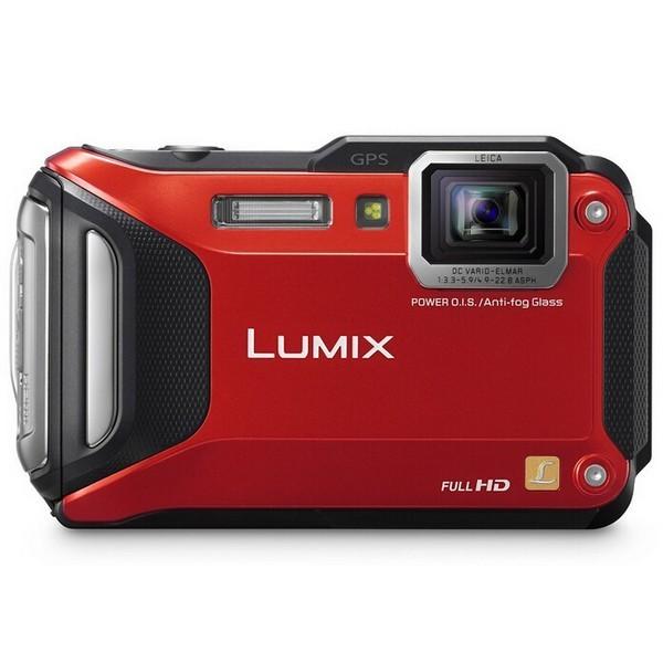 Cámara Digital Panasonic Lumix DMC-FT6/TS6 (rojo)