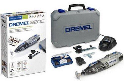 Dremel 8200-2/45 - Multiherramienta (10,8 V, 2 complementos, 45 accesorios con batería Li-ion)