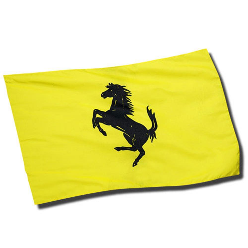 Yellow flag Prancing Horse