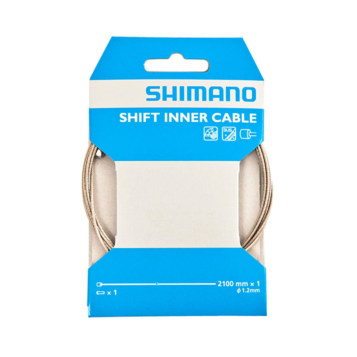 Cable de marchas interno de acero inoxidable Shimano  - Cables de cambio