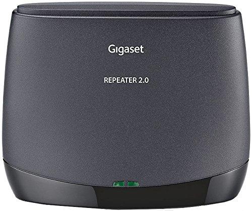 Gigaset Repeater 2.0 - Repetidor DECT (Identificador de llamada) color negro