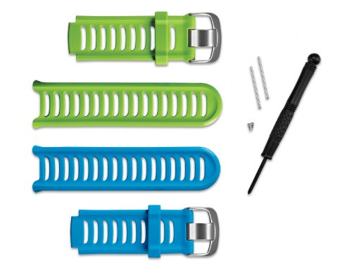Garmin - Kit de correas / azúl y verde 910XT