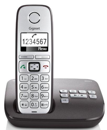 Gigaset E310A - Teléfono inalámbrico, gris