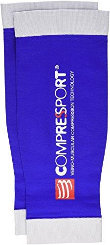 Compressport Calf R2 - Pernera unisex, color azul, talla L (Tamaño Fabricante : T3)