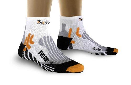 para hombre Blanco Blanco 42//44 X-Socks Calcetines de deporte