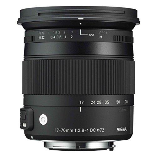 Sigma 884955 - Objetivo para Nikon (distancia focal 17-70mm, apertura f/2.8-4, estabilizador) color negro
