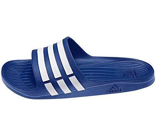 adidas - Chanclas, unisex, color g14309 blau - weiß, talla UK 12 - EUR 47 1/3 - 29