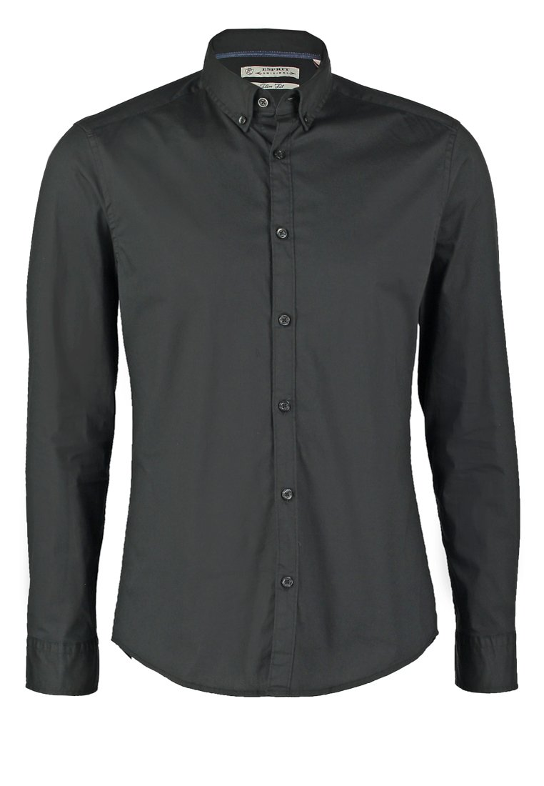 Esprit SLIM FIT Camisa informal black