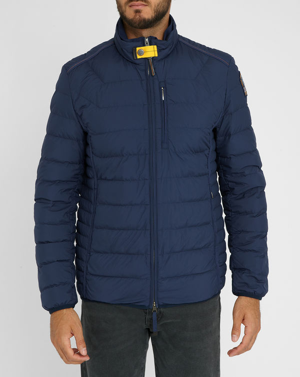 PARAJUMPERS, Blue Hugo Feather Down Jacket