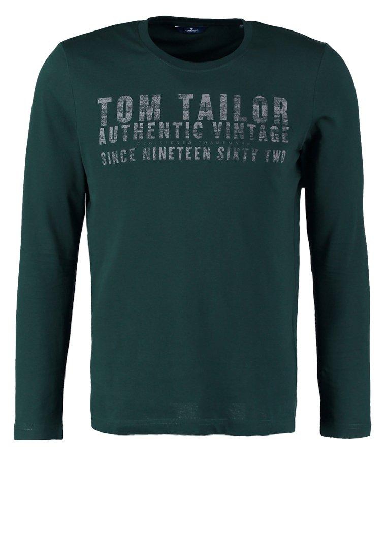 TOM TAILOR Camiseta manga larga deep green lake