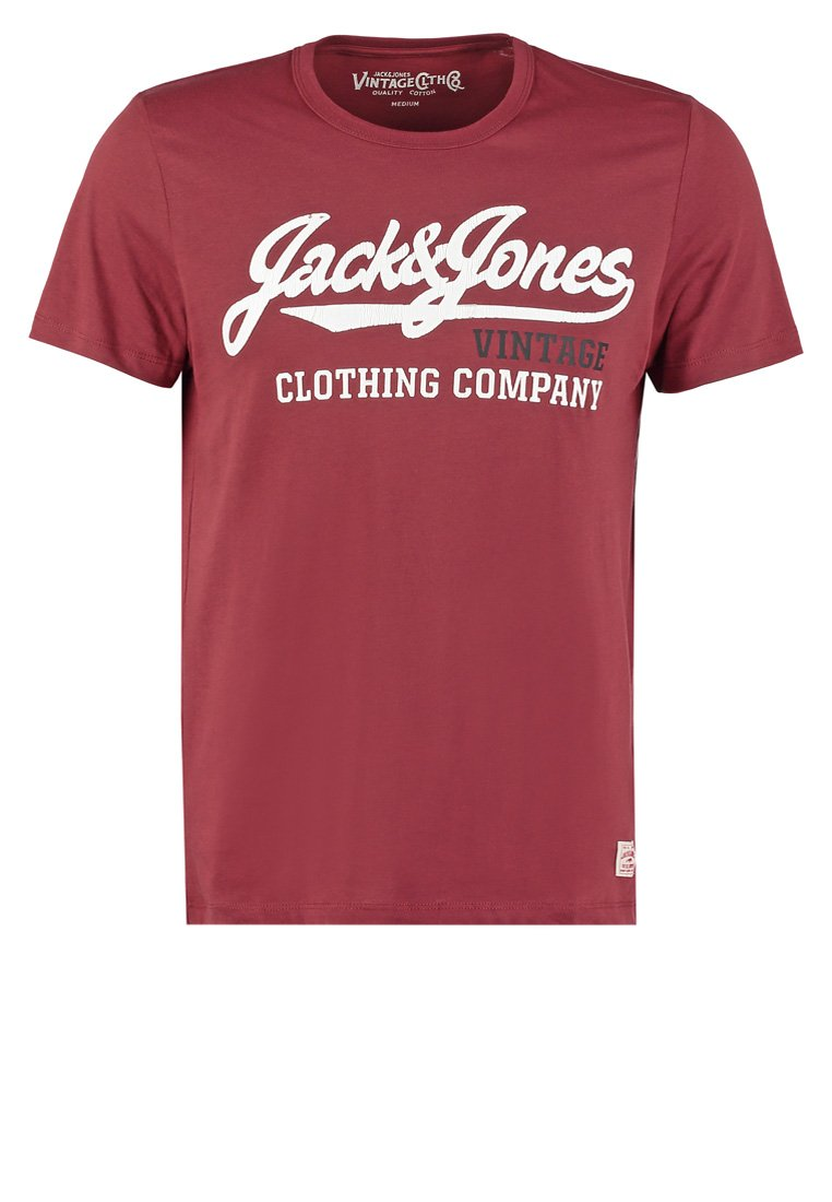 Jack & Jones JJVCPORT SLIM FIT Camiseta print port