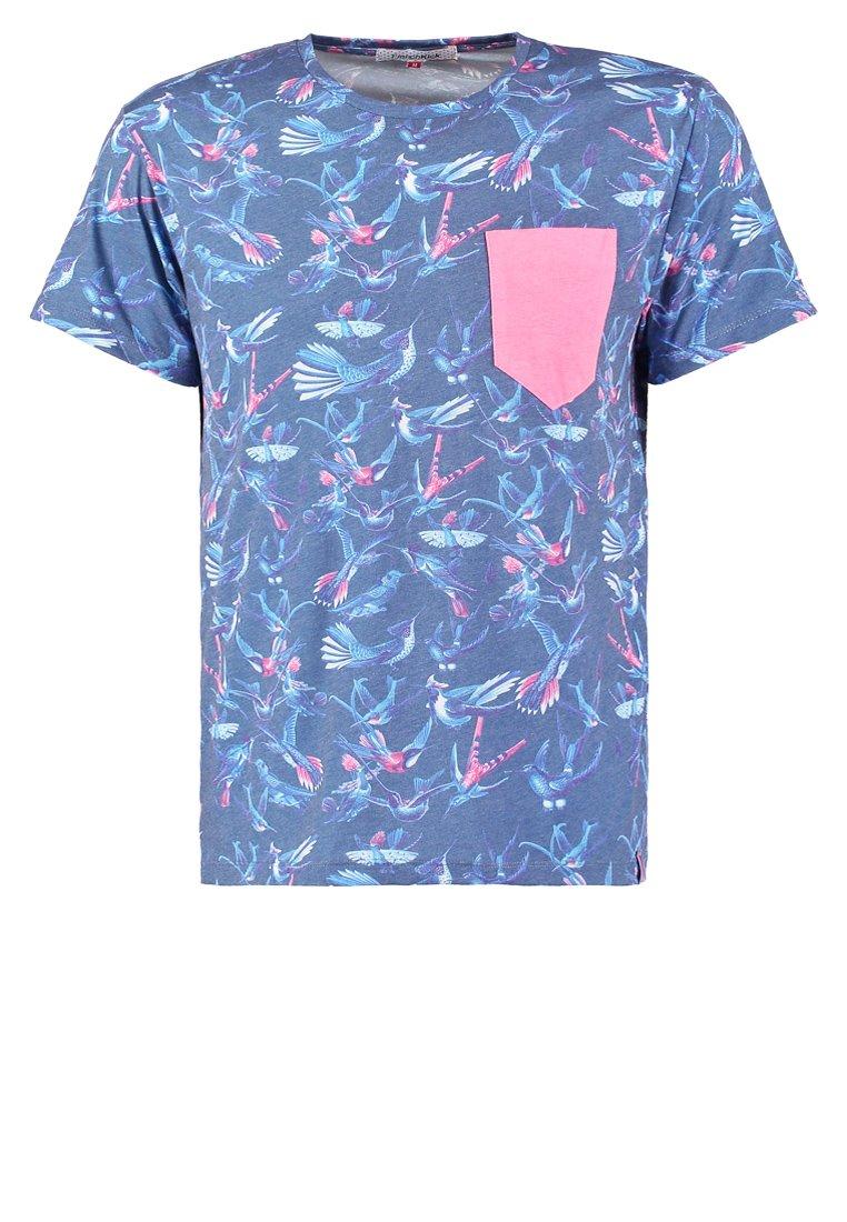 French Kick COUICOUI Camiseta print navy
