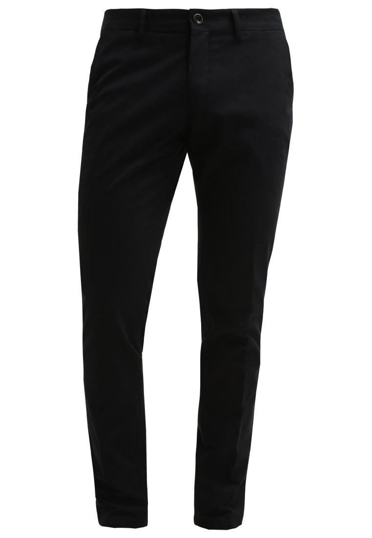 Bertoni BECK Pantalón de tela jet black