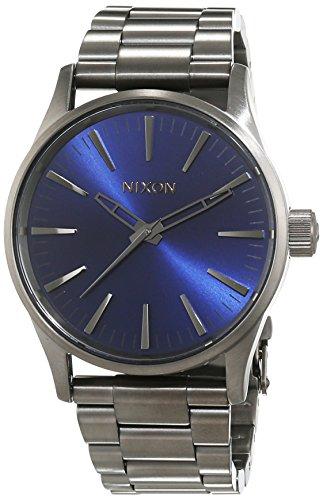 Nixon A4502065-00 - Reloj de pulsera Mujer, Acero inoxidable, color Gris