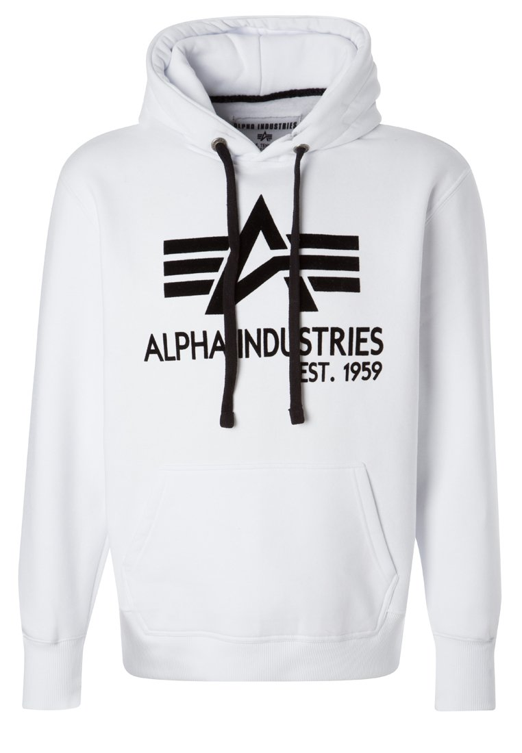Alpha Industries BIG A CLASSIC Jersey con capucha white