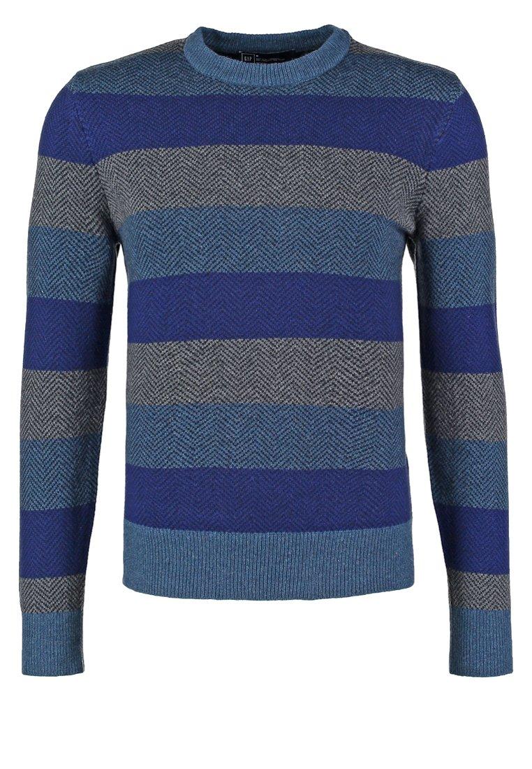 GAP Jersey de punto blue stripe