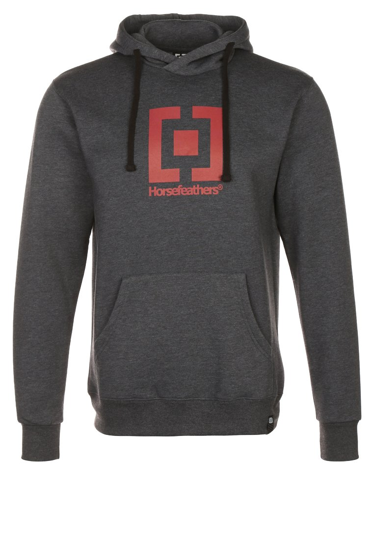 Horsefeathers LEADER Jersey con capucha heather black