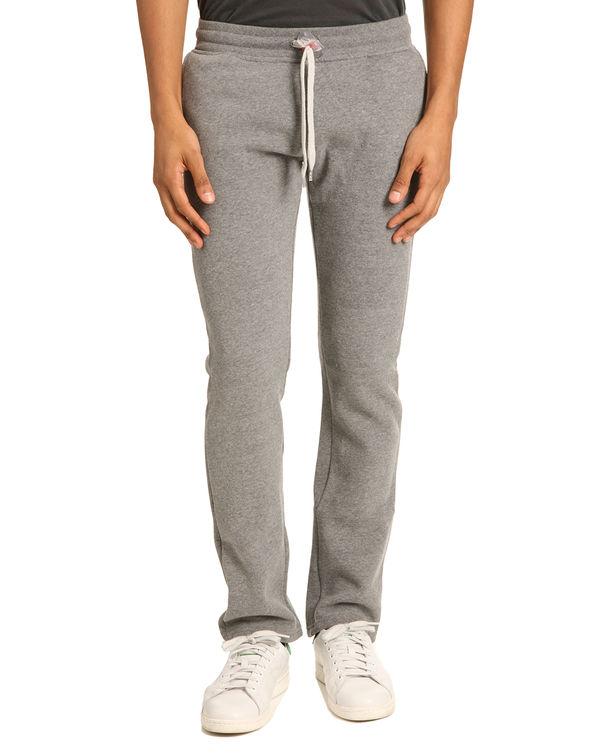 SWEET PANTS, Straight Cut Grey Marl Jogging Trousers