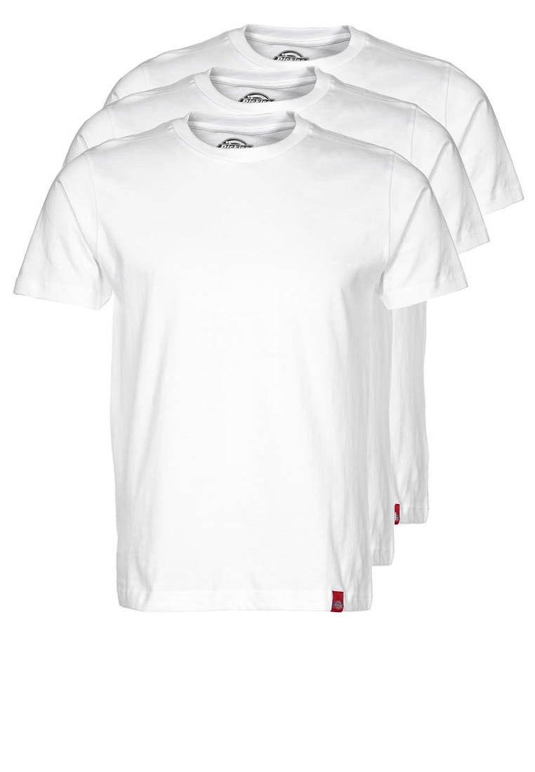 Dickies 3PACK Camiseta básica white