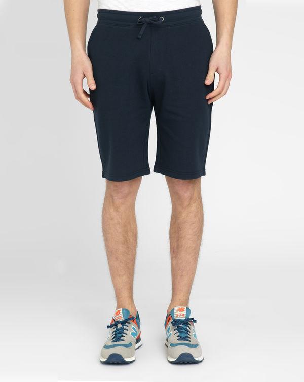 M.STUDIO, Nico Navy Cotton Flannelette Shorts