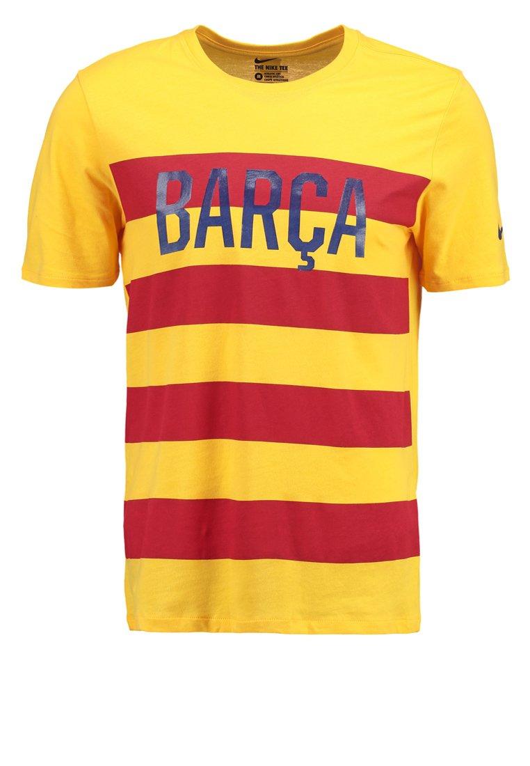 Nike Performance FCB MATCH Camiseta print university gold/university gold
