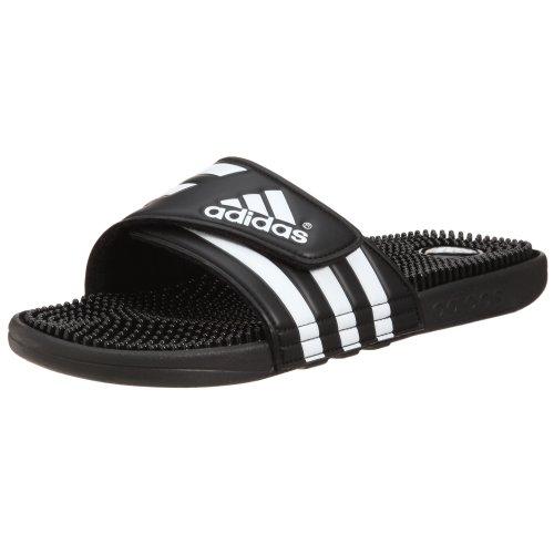 adidas Adissage Fade - Zapatos para hombre, Negro (Schwarz (Black / Black / Running White Ftw)), 13