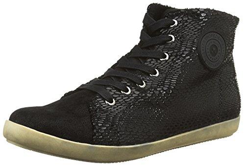 Les Tropeziennes Colas - Zapatillas de lona para mujer, color negro, talla 41