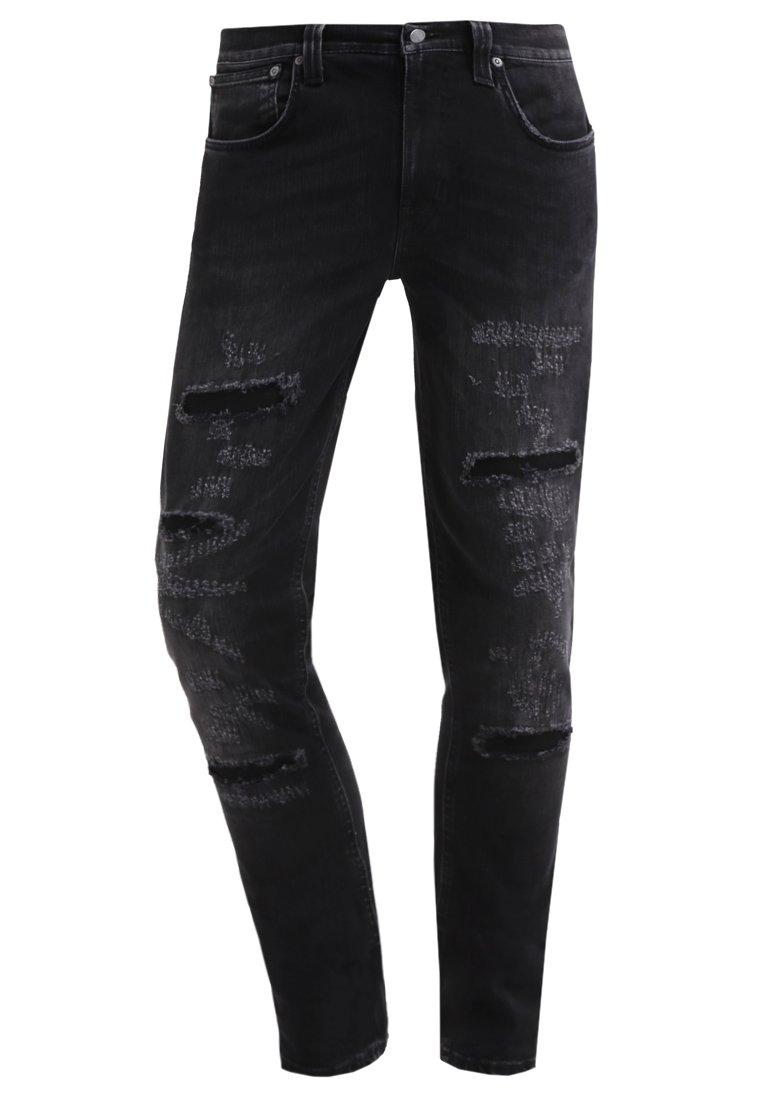 Nudie Jeans LEAN DEAN  Vaqueros slim fit deep black worn