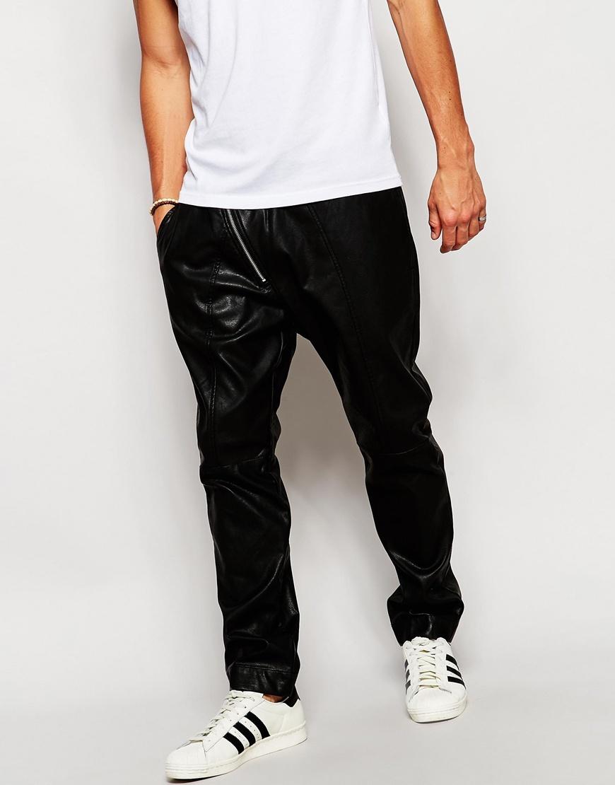 Pantalones de chándal de cuero sintético de Antony Morato