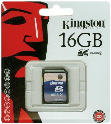 Kingston SDHC - Tarjeta de memoria de 16 GB (Clase 4)