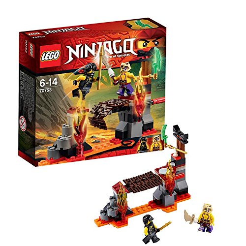 LEGO Ninjago - Cataratas de lava (70753)