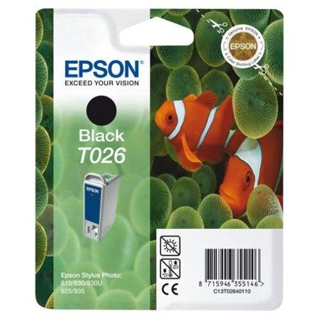 Cartucho de tinta Epson T02640110 contenido negro 16 ml negro