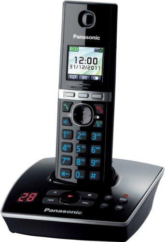 Panasonic KX-TG8061GB, 200 entradas, 18 min, TFT, 0.065000 M, Negro, 3.68 cm (1.45